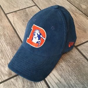 Denver Broncos Corduroy Hat Strapback New Era